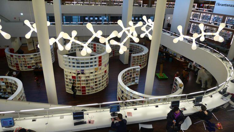 De Openbare Bibliotheek aan de Oosterdokskade. Beeld Floris Lok