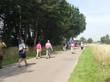 Schuilplaatsen schaars op de 50 kilometer naar Wijchen