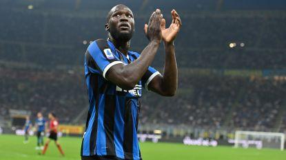 Inter en ingevallen Lukaku pakken volle buit op bezoek bij Sampdoria