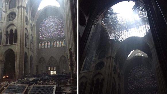 Binnenkant Notre-Dame