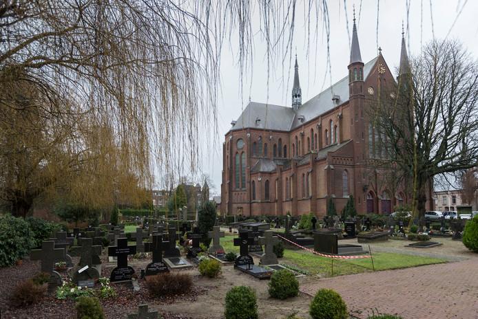 De Heilig Hartkerk in Boxtel.