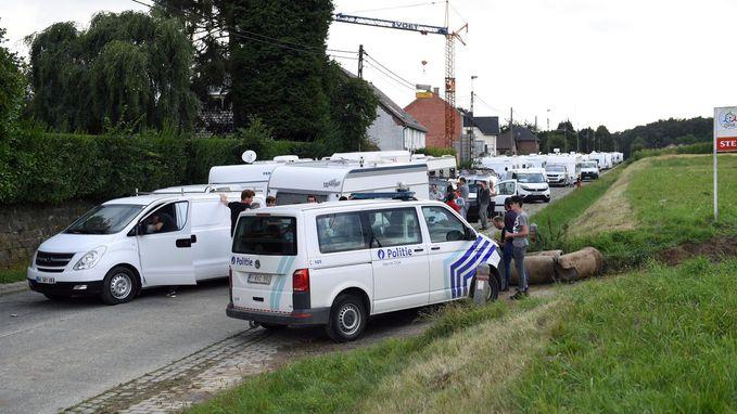 Na blokkade Leuvensebaan mogen zigeuners tot maandag blijven