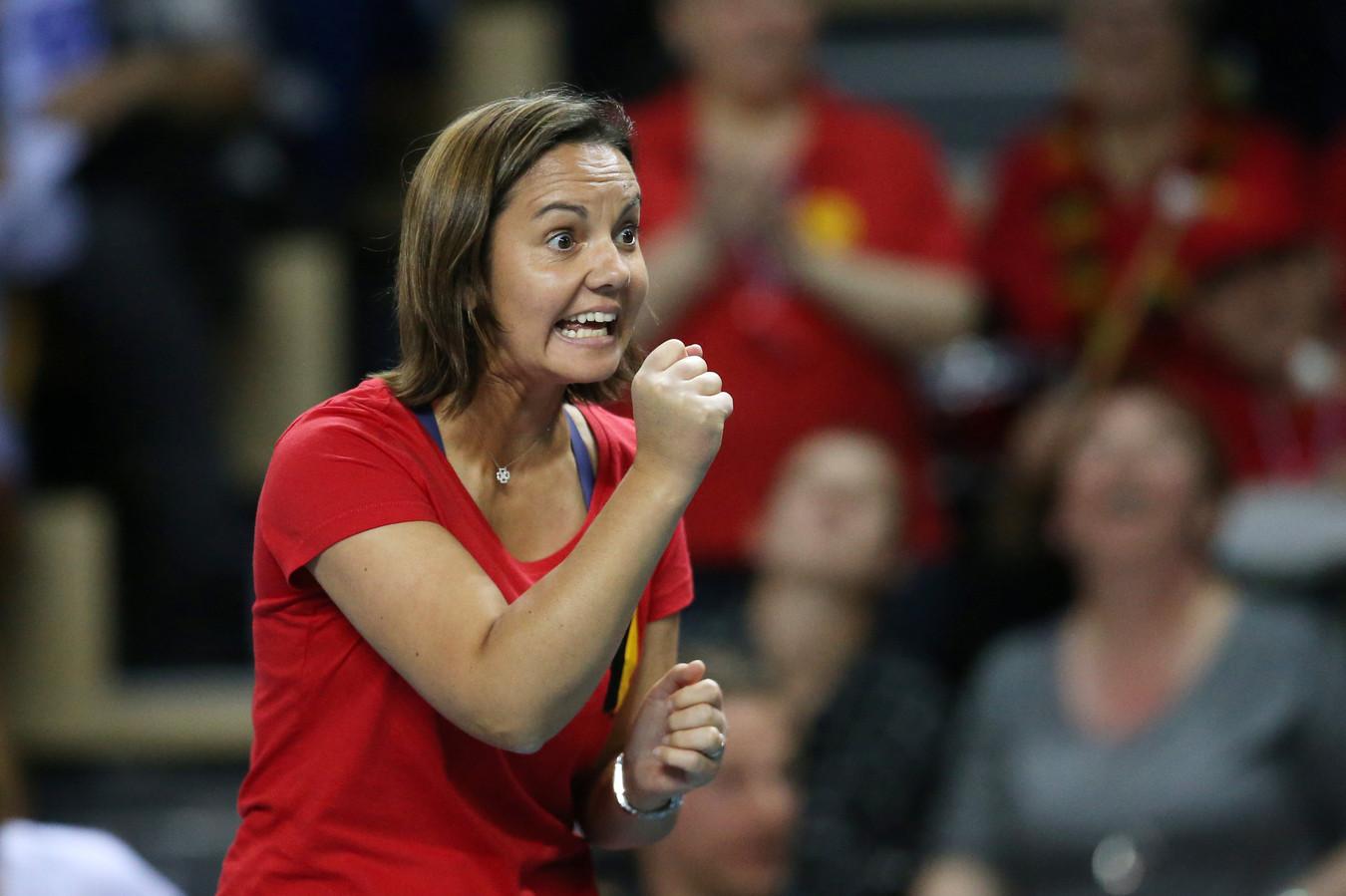 """In de marge van de studie stelde ex-tennisster en coach Dominique Monami dat er voor de aanwezigheid van vrouwen in de bestuursorganen van sportorganisaties """"bij een deel van mannen een mentaliteitswijziging nodig is""""."""