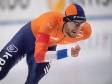Nederlands podium op 1000 meter, goud voor Krol