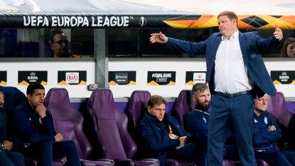 """Ondanks laatste plaats gelooft Hein Vanhaezebrouck nog in kwalificatie: """"We zijn niet uitgeteld"""""""