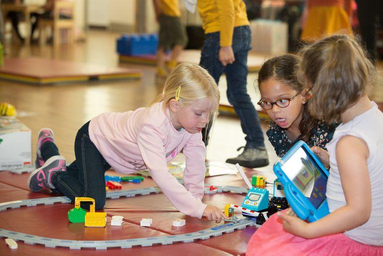 Lego Education brengt met Coding Express technologische vaardigheden naar de kleuterklas