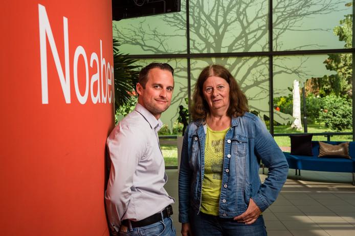 Jorrit van der Linden en Hermien Leussink bemiddelen bij burenruzies.