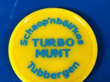 Met deze turbomunt kun je in 1 keer 25 bier betalen tijdens carnaval in Tubbergen