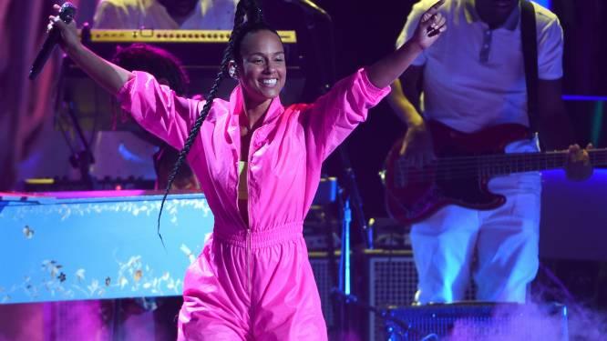 Alicia Keys geeft extravagant feest voor 40ste verjaardag
