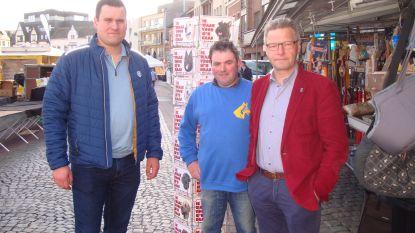 """Marktkramers vragende partij om dinsdagmarkt te centraliseren rond kerk: """"Herschikking kan markt aantrekkelijker maken"""""""