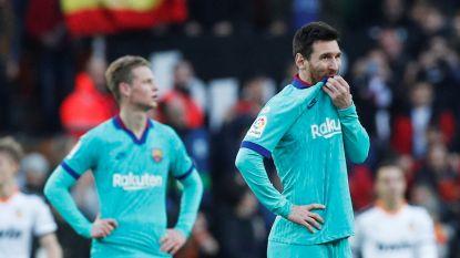 Setién blijkt voorlopig niet de wonderdokter: Barça gaat kansloos onderuit in Valencia