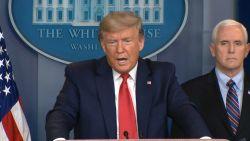 """President Trump: """"We gaan samenwerken met China, maar het blijft een Chinees virus"""""""