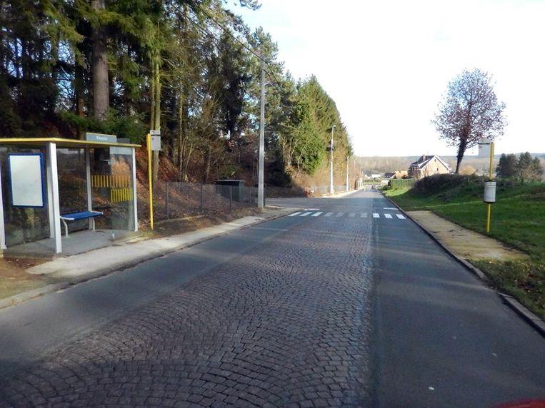 Illustratiebeeld van de wegenwerken in Sint-Agatha-Rode. Riolering, fietspaden én wegdek worden aangepakt.