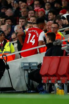 L'envie pressante d'Aubameyang en plein match qui passe mal à Arsenal