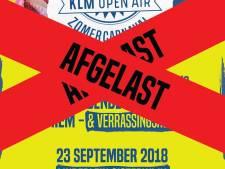 Wind blaast zomercarnaval in Oisterwijk van de agenda, dan zondag maar de kroegen langs