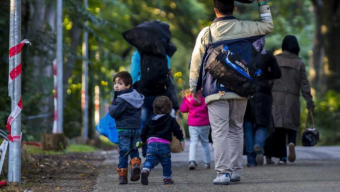 Vluchtelingen bij Heumensoord