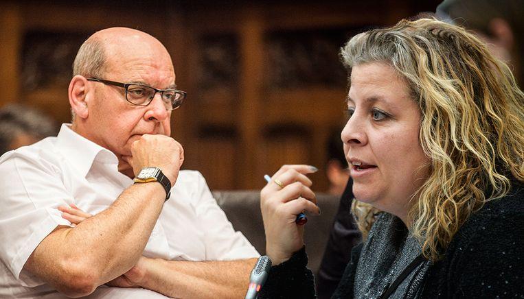 De Gentse burgemeester Daniël Termont (sp.a) en kamerlid Sophie De Wit (N-VA).