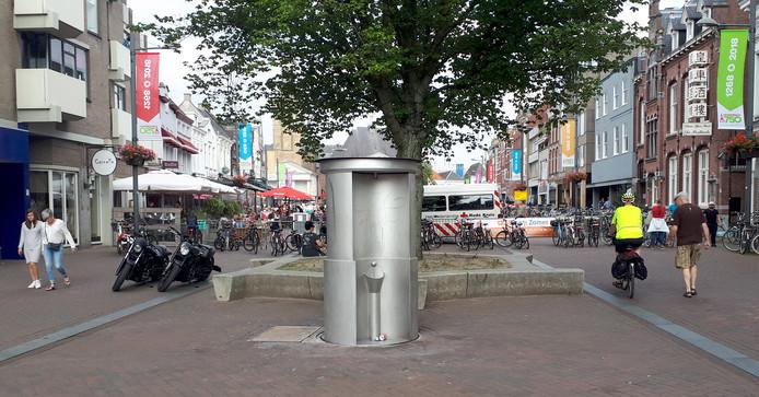 Een van de onderwerpen die de Centrumtafel onlangs besprak, was het te lang omhoog blijven staan van de openbare toiletten.