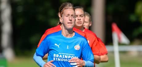 Voltallige selectie en begeleiding PSV Vrouwen in quarantaine