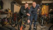 """Vader & zoon Nys: kleine jongens worden groot, grote soms (even) weer klein: """"Thibau fietst door zijn puberteit heen. Zálig toch?"""""""
