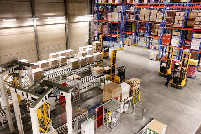 Logistiek centrum van Kuehne en Nagel.