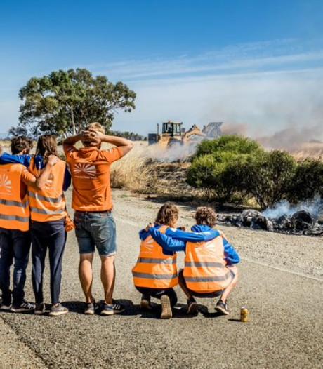 Zonneauto NunaX van TU Delft compleet verwoest na brand