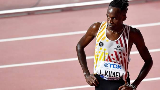 Isaac Kimeli loopt dan toch de 1.500m op WK atletiek