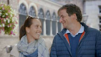 Thibaut en Veerle genieten van hun reis en van elkaar