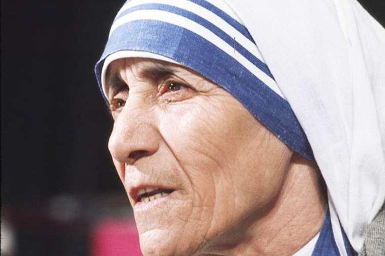 Moeder Teresa.