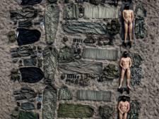 Blote mariniers geven extra dimensie aan Tetris-challenge