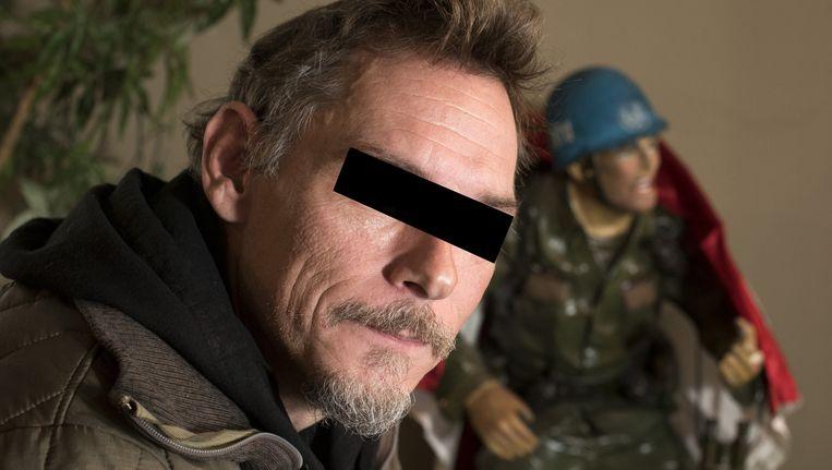 Ex-militair Jitse A. sprak vrijuit over het doden van IS-strijders in Syrië. Beeld anp