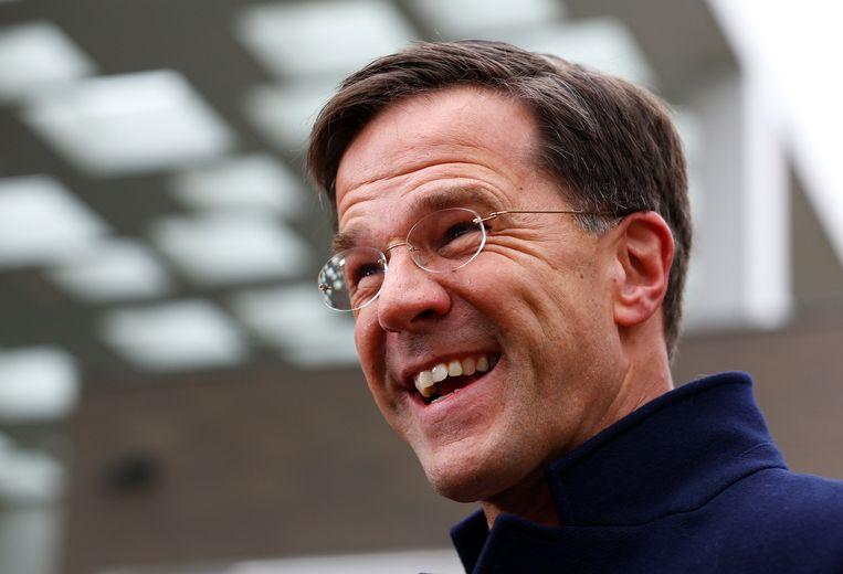 Premier Mark Rutte Beeld REUTERS