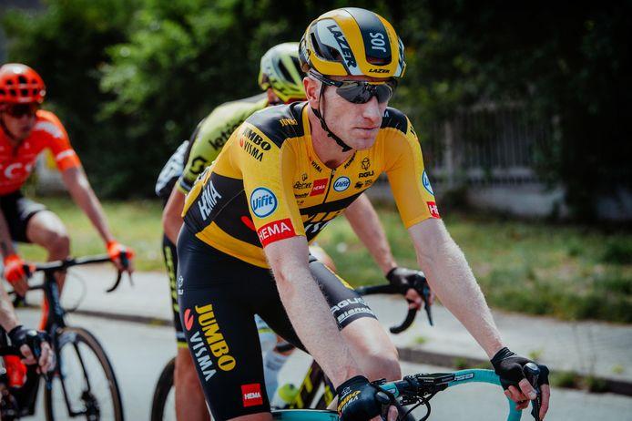 Jos van Emden in de Ronde van Polen.