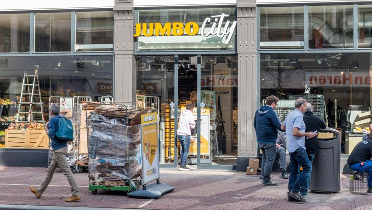 De nieuwe Jumbo City aan de Ferdinand Bolstraat. Beeld Jesper Boot