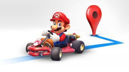 Super Mario navigeert je deze week over de weg bij Google Maps