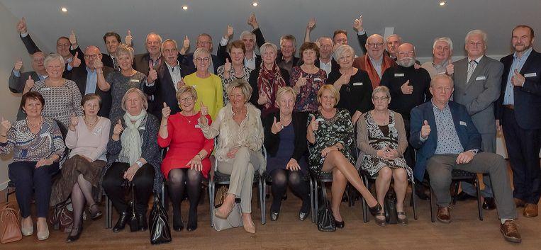 De 65-jarigen van Erembodegem.