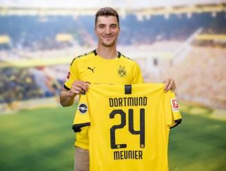"""Thomas Meunier: """"De keuze voor rugnummer 24 bij Dortmund? Mijn grootvader hield van Duits voetbal"""""""