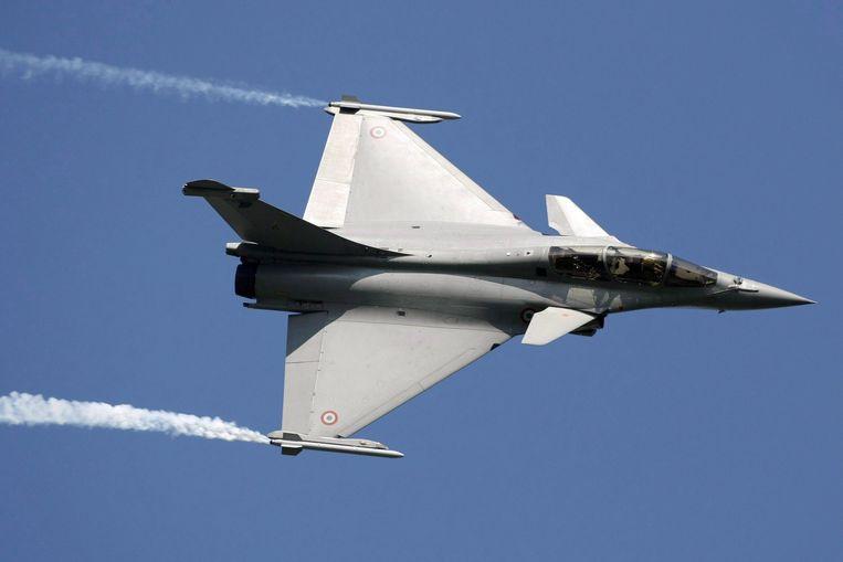 India sloot in 2016 een miljardendeal met Frankrijk om de modernste Franse gevechtsjager, de Rafale, aan te schaffen. Nederland overwoog ook de Rafale maar koos uiteindelijk voor de Amerikaanse JSF.  Beeld EPA