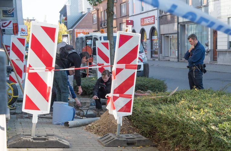 Het zware arbeidsongeval gebeurde op 25 oktober 2015 in de Beverestraat in Oudenaarde.