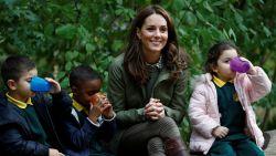 Bevallingsverlof van Kate Middleton zit erop