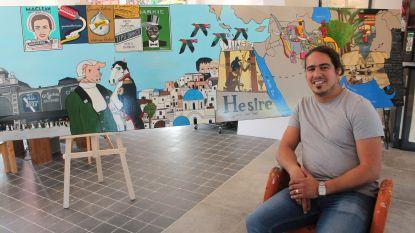 Michael Peetermans stelt tentoon met bekend gezelschap in nieuwe galerij in Knokke
