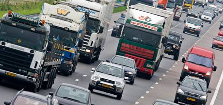 Grote problemen op de A4 na ongeluk