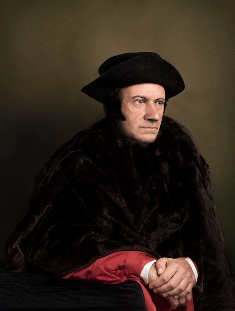 Thomas More. Sir Thomas More, kanselier van Engeland. Onthoofd. Beeld Tessa Posthuma de Boer