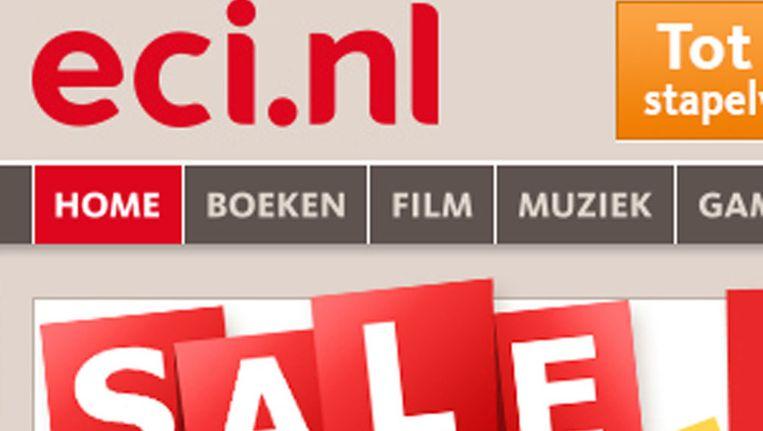 Website ECI Beeld screenshot