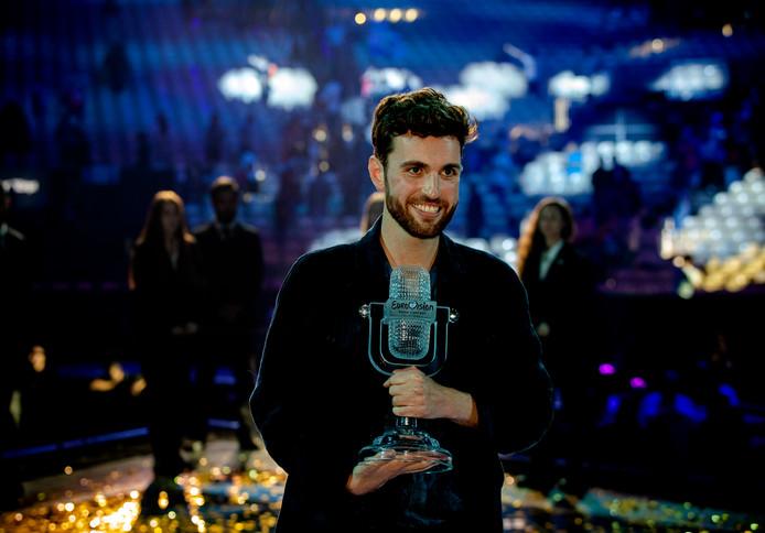 """Amersfoort is """"ontzettend trots op Duncan Laurence"""". De 25-jarige zanger die zaterdagavond het Eurovisie Songfestival won, woont in Amersfoort. De stad denkt nog na over een huldiging."""