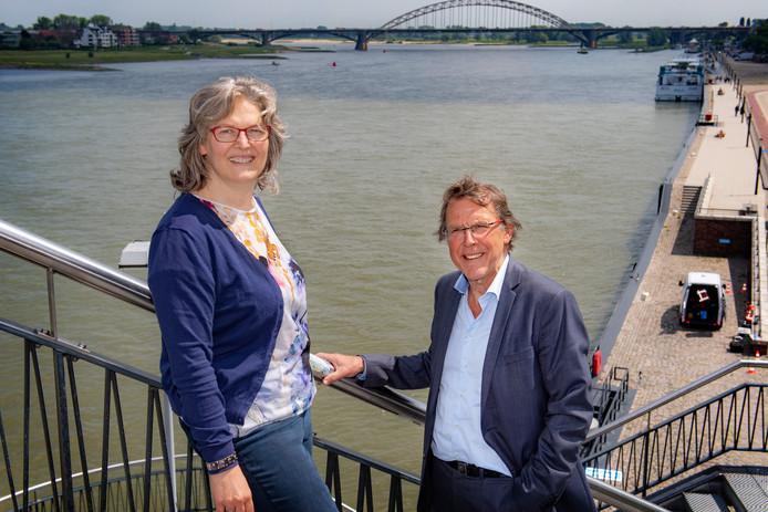 Brigitte Theeuwen en Vincent de Jong van Quiet Nijmegen.