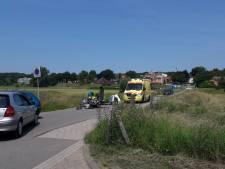 Motorrijder gewond na glijpartij in Rhenen