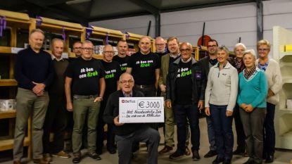 Avondje Krak brengt 3000 euro op voor Het Noodwinkeltje