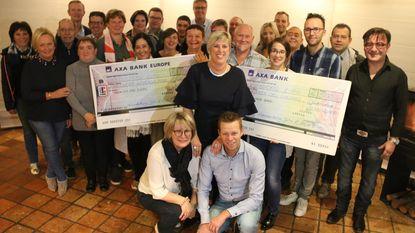 Vriendenkring John Adam & Sybille De Vos schenkt 3.500 euro na Retroavond