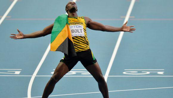 Usain Bolt is toe aan zijn zevende optreden in het Zwitserse Zürich.